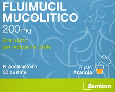 Fluimucil mucolitico 200 - Confezione