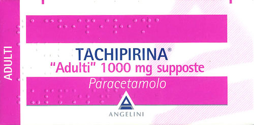 Tachipirina - supposte 1000