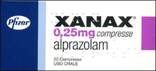 Xanax ed effetti collaterali 1998